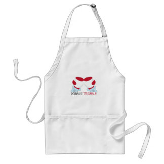Double Trouble Adult Apron