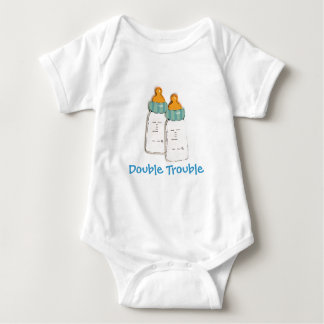 Double Trouble Baby BottlesTwin for Baby Infant Creeper