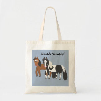 Double Trouble! Canvas Bags