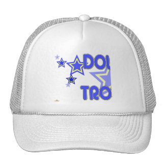 Double Trouble Blue Yellow Stars Part 1 Hats