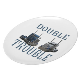 Double Trouble Dinner Plate