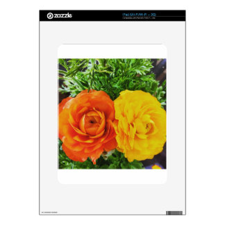 Double Trouble Flower iPad Decals