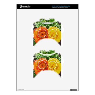 Double Trouble Flower Xbox 360 Controller Skin
