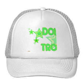 Double Trouble Green Yellow Stars Part 1 Hat
