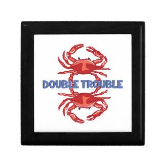 Double Trouble Keepsake Box