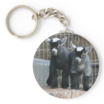 Double Trouble Keychain