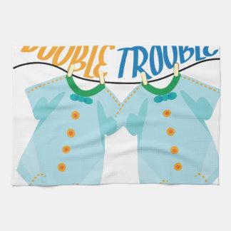 Double Trouble Kitchen Towel