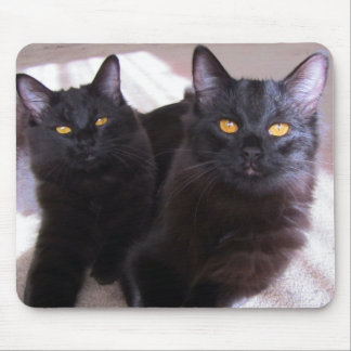 DOUBLE TROUBLE MOUSE PAD