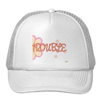 Double Trouble Orange Pink Flowers Part 2 Hats