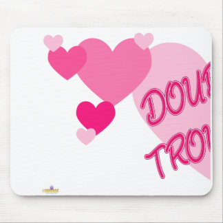 Double Trouble Pink Hearts Part 1 Mouse Pad