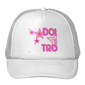 Double Trouble Pink Yellow Stars Part 1 Trucker Hat