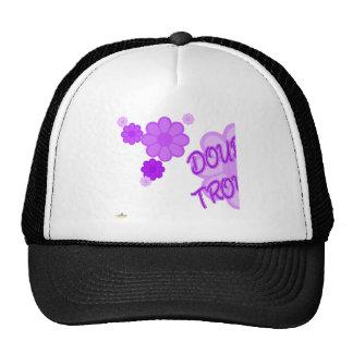 Double Trouble Purple Flowers Part 1 Hats