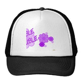 Double Trouble Purple Flowers Part 2 Hats