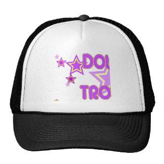 Double Trouble Purple Yellow Stars Part 1 Trucker Hat