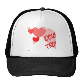 Double Trouble Red Hearts Part 1 Mesh Hats