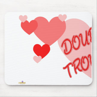 Double Trouble Red Hearts Part 1 Mouse Pad