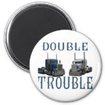 Double Trouble Refrigerator Magnets