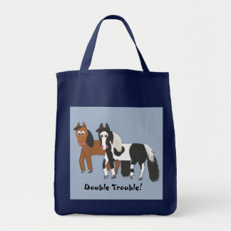 Double Trouble! Tote Bag