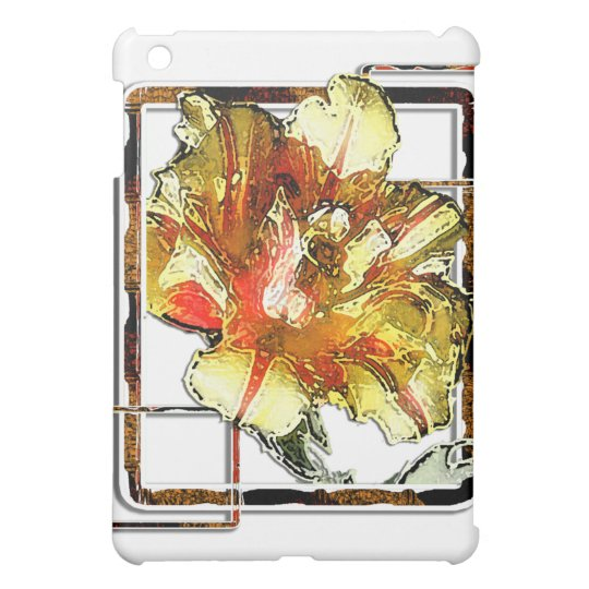Double Tulip: Yellow and Red iPad Mini Covers