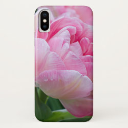 Double Tulips Beauty Flower iPhone XS Case