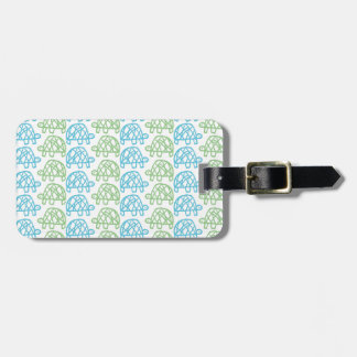 Double turtles luggage tags
