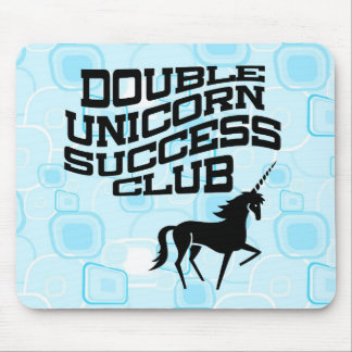 Double Unicorn Success Club Mousepad
