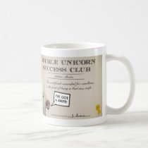 Double Unicorn Success Club Mug.  Drink awesome. Coffee Mug