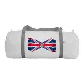 Double Union Jack, British flag in 3D Gym Bag