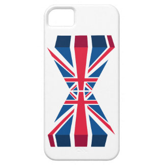 Double Union Jack, British flag in 3D iPhone SE/5/5s Case