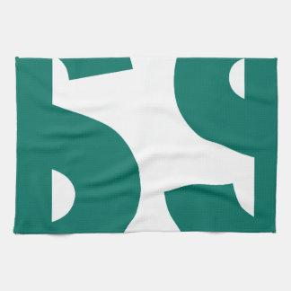 Double USD Dollar Symbol Hand Towels