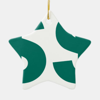 Double USD Dollar Symbol Christmas Ornament