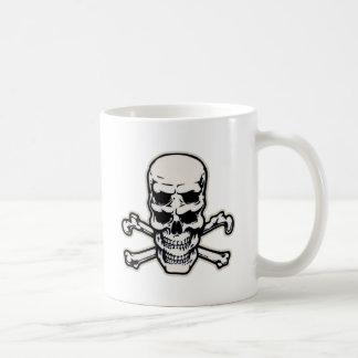 Double Vision Skull Coffee Mug