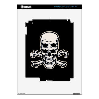 Double Vision Skull Decal For iPad 3