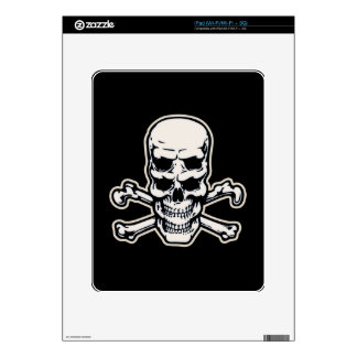 Double Vision Skull Decals For iPad