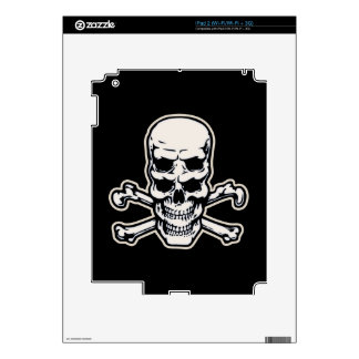 Double Vision Skull iPad 2 Decals