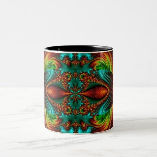 Double Vision Two-Tone Coffee Mug