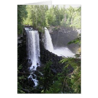 Double Waterfall Card
