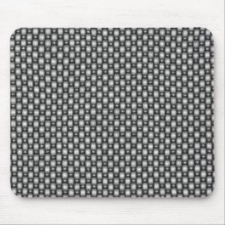 double weave carbon fiber mouse pad