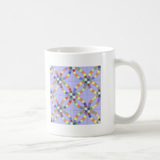 Double Wedding Ring Coffee Mug