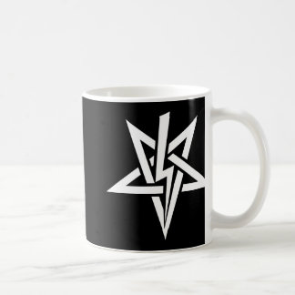 Double White Anton Szandor LaVey Sigil Mug