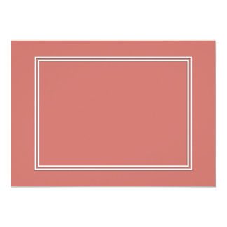 Double White Pin line Drop Shadow on Camellia Pink Card