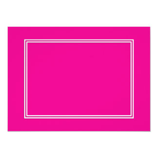 Double White Shadowed Border on Purple Pink Card