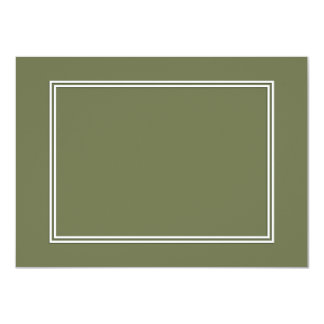 Double White Shadowed Border on Wheelbarrow Grey Card