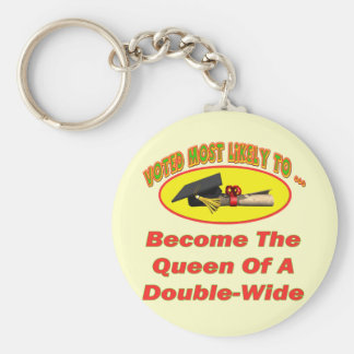 Double-Wide Queen Key Chain
