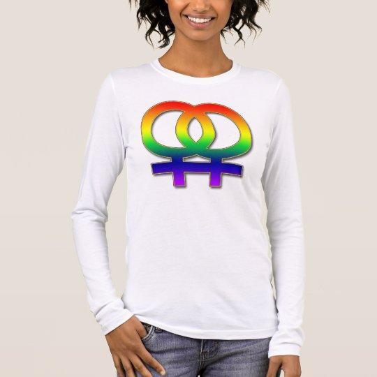 Double Women's Symbol Long Sleeve T-Shirt