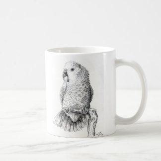 Double Yellow Head Amazon Coffee Mug