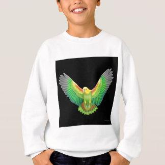 Double Yellow Headed Amazon Kids Sweatshirt