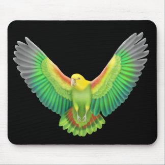 Double Yellow Headed Amazon Mousepad
