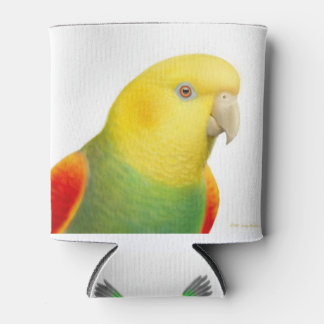 Double Yellow Headed Amazon Parrot Can Cooler