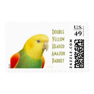 Double Yellow Headed Amazon Parrot Postage
